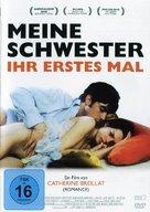 À ma soeur! - German Movie Cover (xs thumbnail)