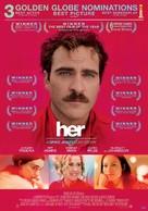 Her - Lebanese Movie Poster (xs thumbnail)