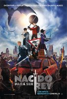 The Kid Who Would Be King - Mexican Movie Poster (xs thumbnail)