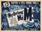 The Mysterious Mr. M - Movie Poster (xs thumbnail)