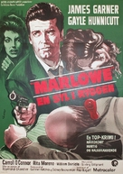 Marlowe - Danish Movie Poster (xs thumbnail)