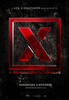 X. - Hungarian Movie Poster (xs thumbnail)