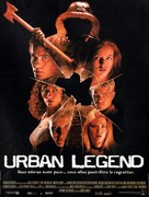 Urban Legend - French Movie Poster (xs thumbnail)
