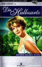 Die Halbzarte - German VHS movie cover (xs thumbnail)