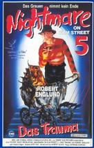 A Nightmare on Elm Street: The Dream Child - German VHS cover (xs thumbnail)