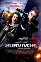Survivor - British Movie Poster (xs thumbnail)