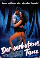The Forbidden Dance - German Movie Poster (xs thumbnail)