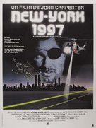 Escape From New York - French Movie Poster (xs thumbnail)