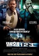 The Taking of Pelham 1 2 3 - South Korean Movie Poster (xs thumbnail)