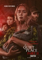 A Quiet Place: Part II - Norwegian Movie Poster (xs thumbnail)