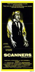 Scanners - Australian Movie Poster (xs thumbnail)