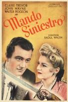 Dark Command - Spanish Movie Poster (xs thumbnail)