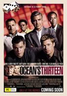 Ocean's Thirteen - Australian Movie Poster (xs thumbnail)