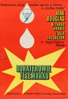 The Heroes of Telemark - Polish Movie Poster (xs thumbnail)