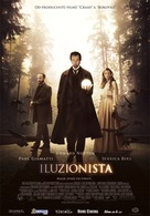 The Illusionist - Czech Movie Poster (xs thumbnail)