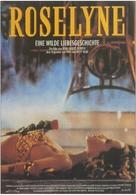 Roselyne et les lions - German Movie Poster (xs thumbnail)