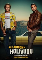 Once Upon a Time in Hollywood - Serbian Movie Poster (xs thumbnail)