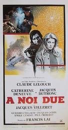 À nous deux - Italian Movie Poster (xs thumbnail)