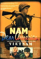 Dear America: Letters Home from Vietnam - German Movie Poster (xs thumbnail)