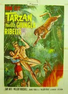 Tarzan's Jungle Rebellion - Italian Movie Poster (xs thumbnail)