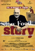 Slow Food Story - Italian Movie Poster (xs thumbnail)
