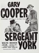 Sergeant York - Australian Movie Poster (xs thumbnail)