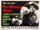 The Wrong Man - British Movie Poster (xs thumbnail)
