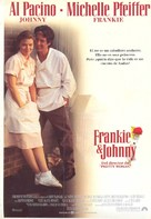 Frankie and Johnny - Spanish Movie Poster (xs thumbnail)