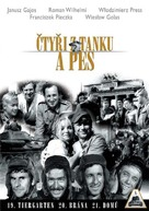 """Czterej pancerni i pies"" - Czech DVD movie cover (xs thumbnail)"