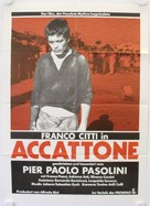 Accattone - German Movie Poster (xs thumbnail)