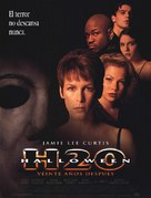 Halloween H20: 20 Years Later - Spanish Movie Poster (xs thumbnail)