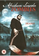 Abraham Lincoln vs. Zombies - British Movie Cover (xs thumbnail)