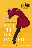 And Then We Danced - Swedish Movie Poster (xs thumbnail)