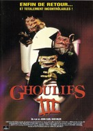 Ghoulies III: Ghoulies Go to College - French DVD cover (xs thumbnail)