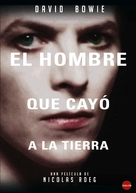 The Man Who Fell to Earth - Spanish Movie Cover (xs thumbnail)