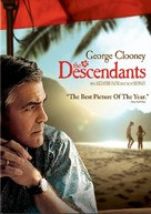 The Descendants - DVD cover (xs thumbnail)