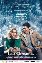 Last Christmas - Slovak Movie Poster (xs thumbnail)