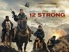 12 Strong - British Movie Poster (xs thumbnail)