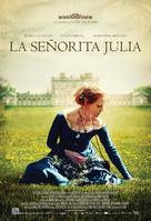 Miss Julie - Spanish Movie Poster (xs thumbnail)