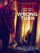 Wrong Turn - British Movie Poster (xs thumbnail)