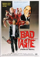 Bad Taste - Italian Movie Poster (xs thumbnail)
