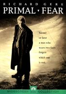 Primal Fear - DVD movie cover (xs thumbnail)
