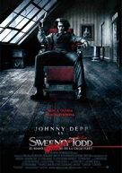 Sweeney Todd: The Demon Barber of Fleet Street - Spanish Movie Poster (xs thumbnail)