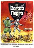 The Black Shield of Falworth - Spanish Movie Poster (xs thumbnail)