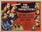 The Three Musketeers - Re-release poster (xs thumbnail)