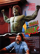 The Trial of the Incredible Hulk - Movie Poster (xs thumbnail)