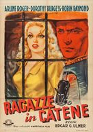 Girls in Chains - Italian Movie Poster (xs thumbnail)