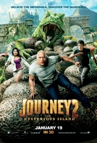 Journey 2: The Mysterious Island - Malaysian Movie Poster (xs thumbnail)