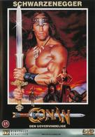 Conan The Destroyer - Danish Movie Cover (xs thumbnail)