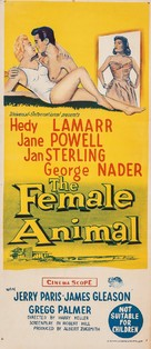The Female Animal - Australian Movie Poster (xs thumbnail)